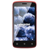 Смартфон Digma Vox VS4002PG 3G Red